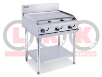 LKKOB6A 900mm Gas Griddle with Legs