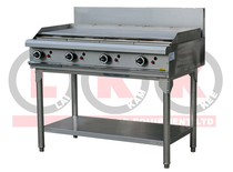 LKKOB8AA 4 Burner 1200mm Gas Griddlewith Legs