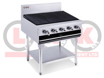 LKKCG9 5 Burner 900mm Chargrill with Legs