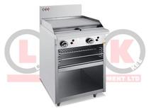 600mm Griddle with Toaster - LKKOB4B+T