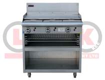LKKOB6A+T 900mm Gas Griddle with Toaster