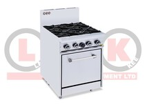 LKKOB4D+O 4 Gas Open Burner Cooktop + Standard Oven