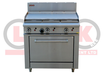 LKKOB6A+O 900mm Gas Griddle + Standard Oven