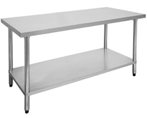 1800-6-WB Economic 304 Grade Stainless Steel Table 1800x600x900