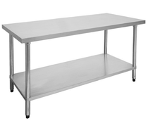 2100-6-WB Economic 304 Grade Stainless Steel Table 2100x600x900