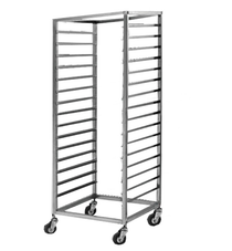 GTS-130 Square Corner Stainless Steel Gastronorm/ Bakery Racks