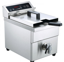 IF3500S Single Tank Induction Fryer Capacity: 8 Litres