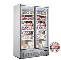 LG-1000GBMF Thermaster Double Door Supermarket Freezer Bottom Mounted
