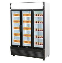 LG-1200GEF 1046 Litre Triple Door Upright Glass Door Combined Fridge & Freezer