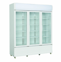 Three Glass Door Colourbond Upright Drink Fridge - LG-1203GE