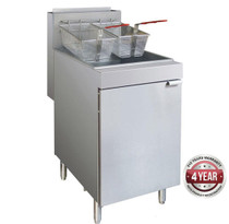 RC300E - Superfast Natural Gas Tube Fryer Tank Capacity 23 Litres