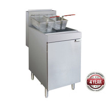 RC400ELPG - Superfast LPG Gas Tube Fryer 22Lt Oil Capacity