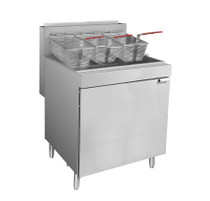 RC500E - Superfast Natural Gas Tube Fryer Oil Capacity  37 Litre