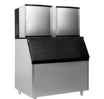 SN-1500P Air-Cooled Blizzard Ice Maker Average output/24h: 675kg