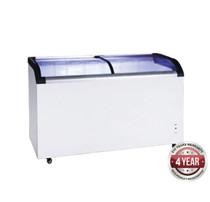ST545 Two Glass Sliding Lids Chest Freezer with Castors 545Ltr
