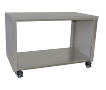 STHT-1200S Stainless Steel Pass Through Cabinet On Castors 1200mm Width
