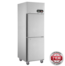 SUC600 TROPICAL Thermaster 2×½ door SS Fridge