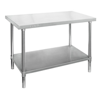 WB6-2400/A Stainless Steel Workbench