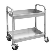 YC-102D - Stainless Steel Trolley with 2 Shelves