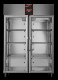 AF14PKMTNPV Mastercool 1400 Litre Italian Made Upright Glass Door Refrigerator