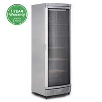 Curved Glass Door 372L Wine Chiller - WC0400C LED ECO