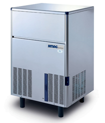 Self-Contained 59kg Solid Cube Ice Machine - IM0065SSC