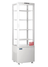 CB509-A Polar Curved Door Display Fridge 235Ltr White