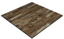 Compact Laminate Duratop 690x690 Square - Rustic Block Wood