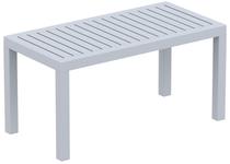 Ocean Lounge Coffee Table (900x450) - Silver Grey