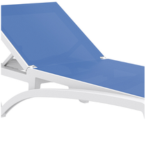 Pacific Sunlounger Replacement Skin - Blue