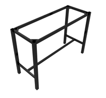 Preston Aluminium Dry Bar Frame 1490x790x1050h - Black