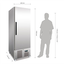 G591-A  Polar G-Series Slimline Upright Freezer 440Ltr