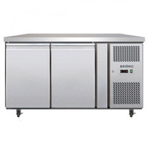 UBC1360SD Bromic - 2 x S/S Door Gastronorm Underbar Chiller 1360mm