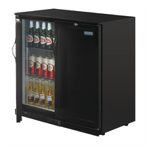 GL016-A Polar G-Series Back Bar Cooler with Solid Doors 208Ltr