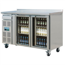 CK490-A Polar U-Series 2 Door Premium Bar Fridge 366Ltr