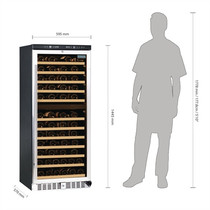 CE217-A Polar G-Series Dual Zone Wine Fridge 92 Bottle