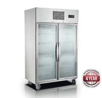 SUFG1000 Double Door Display Freezer 1000 Litre 1220mm Width