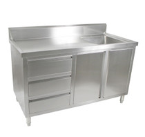 SC-6-1500R-H Cabinet with Right Sink 1500mm Width