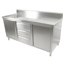 SC-6-1800L/H Cabinet with Left Sink
