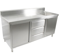 SC-6-1800R/H Cabinet with Right Sink