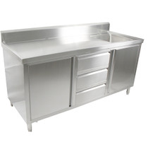 SC-6-2100R/H Cabine with Right Sink