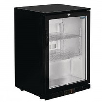 GL001-A Polar G-Series Counter Back Bar Cooler with Hinged Door 138 Ltr
