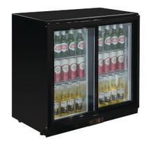 GL010-A Polar G-Series Under Counter Back Bar Cooler with Sliding Doors 198Ltr