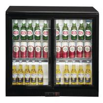 GL003-A Polar G Series Counter Back Bar Cooler with Sliding Doors 208Ltr