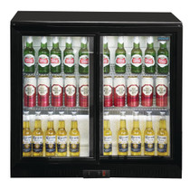 GL003-A Polar G Series Counter Back Bar Cooler with Sliding Doors 208Ltr