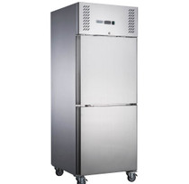 FED-X S/S Two Door Upright Freezer - XURF650S1V