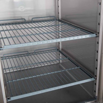 XURF650S1V FED-X S/S Two Door Upright Freezer 650L 740mm Width
