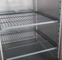 XURF1410S2V FED-X S/S Four Door Upright Freezer Net Capacity: 1410L 1480mm W