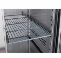 FED-X S/S Four Door Bench Fridge 2230mm Width x 700 D x 850 H - XUB7C22S4V