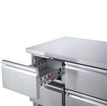 FED-X Six Drawer Compact Workbench Fridge 368L 1368mm Width  - XGNS1300-6D